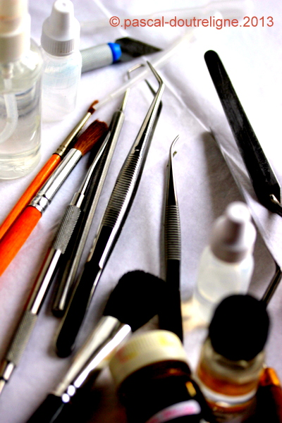 illustration outils stylisme culinaire